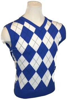 Argyle Golf Sweater Vests