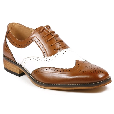 Kings Cross Oxford Wingtip Dress Golf Shoes